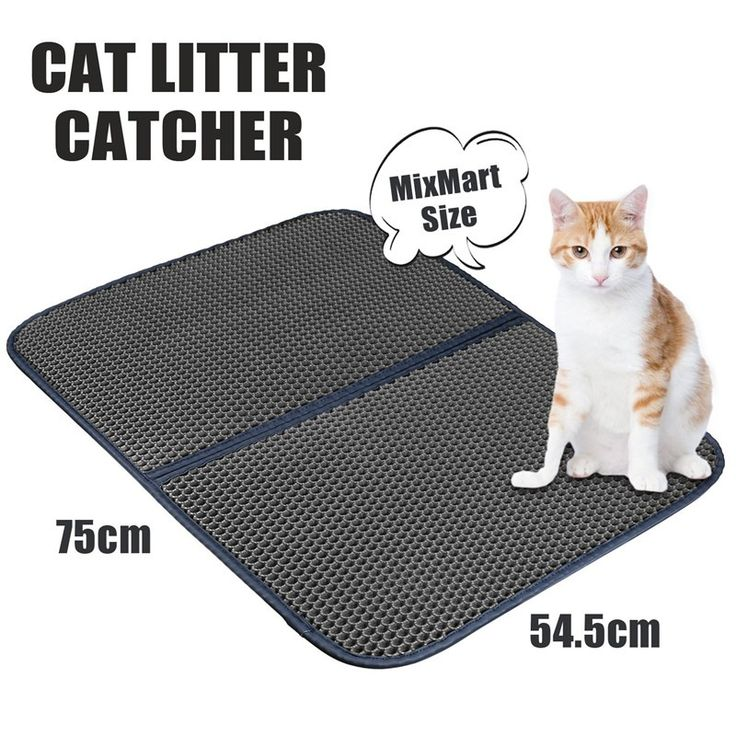 Non Toxic Cat Litter Mat Extra Large Scatter Control Kitty Litter Mats for Cats Tracking Litter Out of Their Box Soft to Paws
