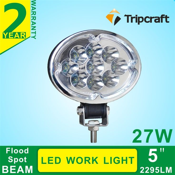 China Manufacturer !Oval 27W led working light , 27W led work light offroad for truck atv 4x4 27 watt