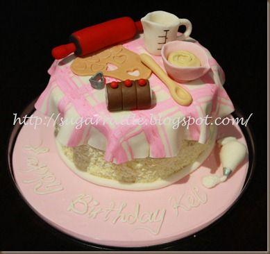 baking theme cake Repin, like or hit thanks :)