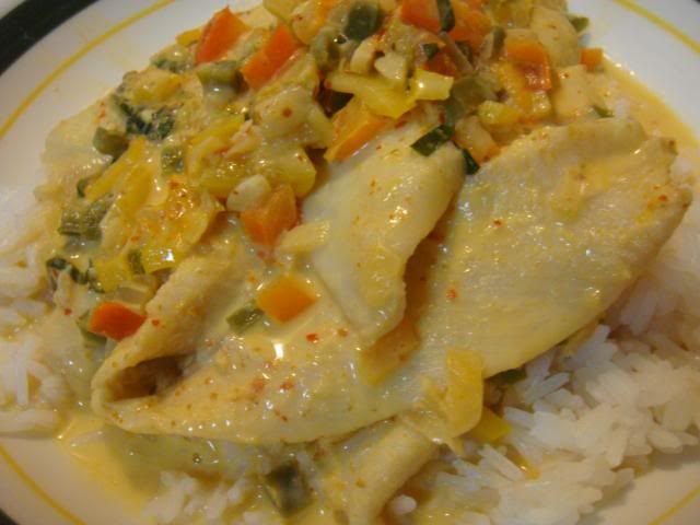 sole fish recipes | Thai Coconut Curry Sole - Welcome to Kristen's Kitchen!