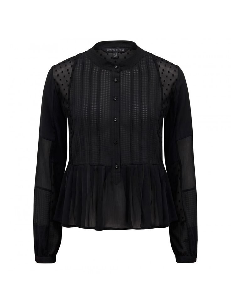 Discover a new wardrobe favourite and channel chic sophistication with our Liana Embroidered button up blouse, sure to see you transition effortlessly from day to night.
