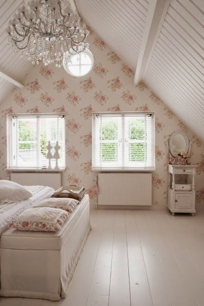 Pink & White Cottage