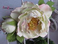 Школа создания цветов из фоамирана Инны Жарой.