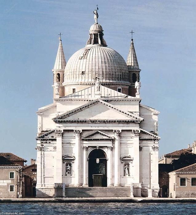 Chiesa del Redentore by Andrea Palladio ,in Venice - Italy.
