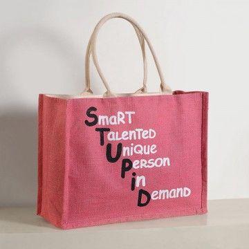 Jute Shopping Bag- JCB01-608