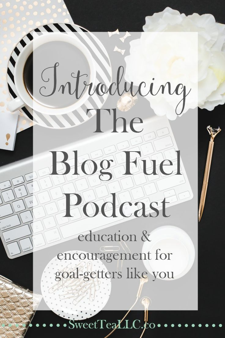 The Blog Fuel podcast provides high-octane education & encouragement for bloggers & creatives, to help keep the engine of your blog running smoothly so you can avoid a breakdown. A new episode is available every Wednesday!