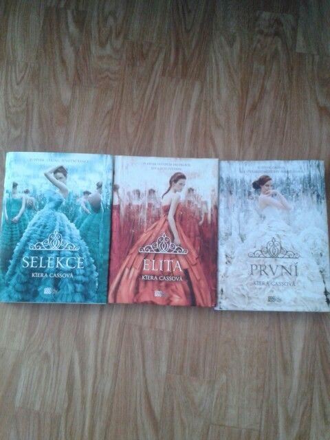 Selekce (Selection), Elita (Elite), První (The first) - Kiera Cass