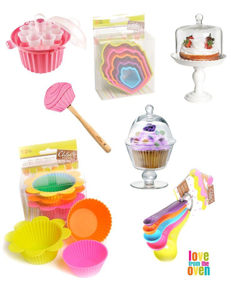 Cute baking supplies.