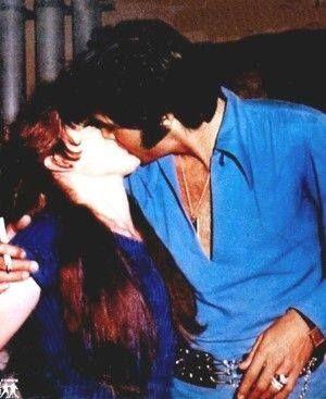 Priscilla and Presley (rare) | Elvis and Priscilla Presley ...