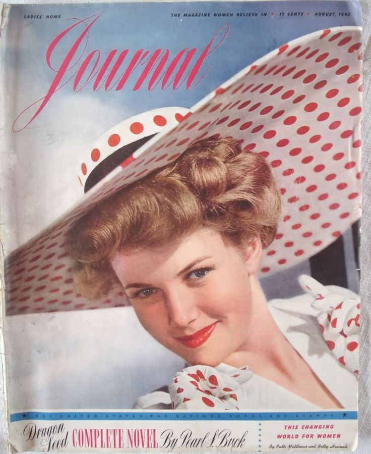 17 Best Images About Ladies Home Journal 1940 S To 1950 S