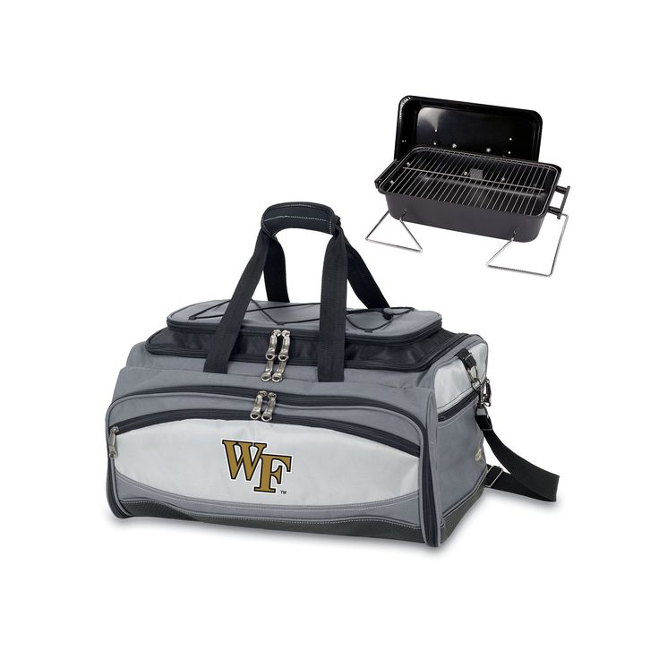 Wake Forest Demon Deacons 6-pc. Grill and Cooler Set, Grey