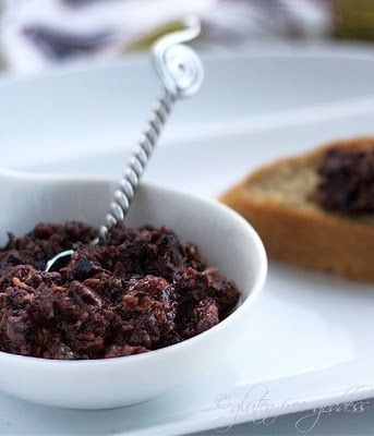 Gluten-Free Baguettes with Greek Olive Tapenade (I'm here for the tapenade, but the baguettes look lovely, too)