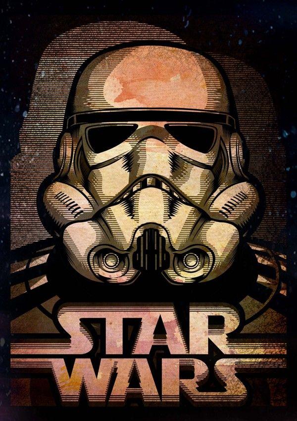 Star Wars Art Gallery | Geek Art Gallery: Illustration: Star Wars Bad Guys