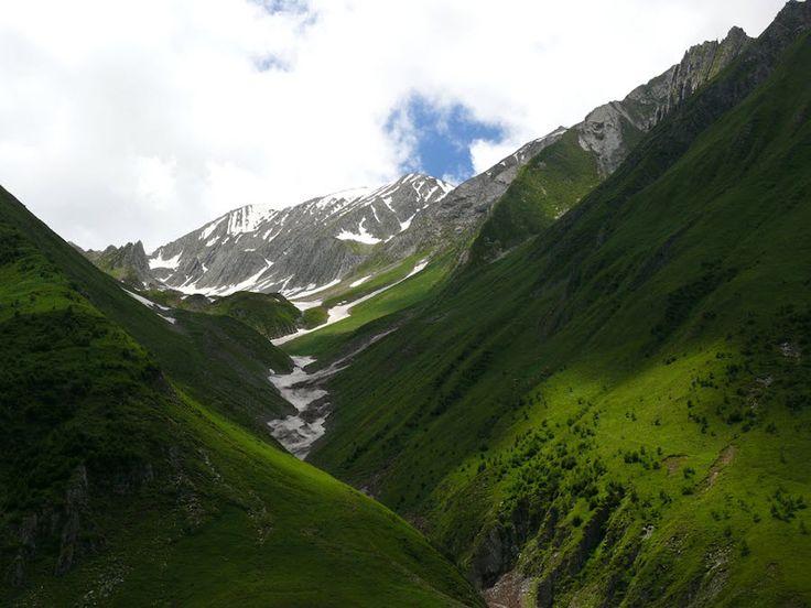 Фото долины Трусо летом