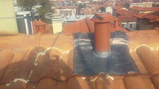 Palo con copertura piombo