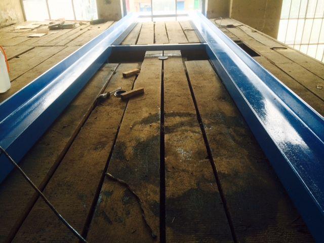 Black Water Valley Drier Skids being installed