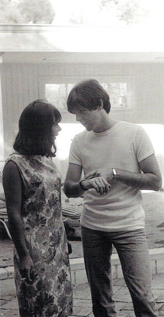 Paul and Diana Vero, Brian Epstein's secretary in 1964