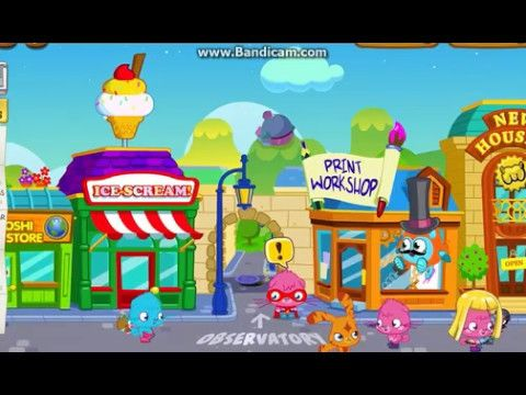 Moshi Monsters: Ice-Scream Game