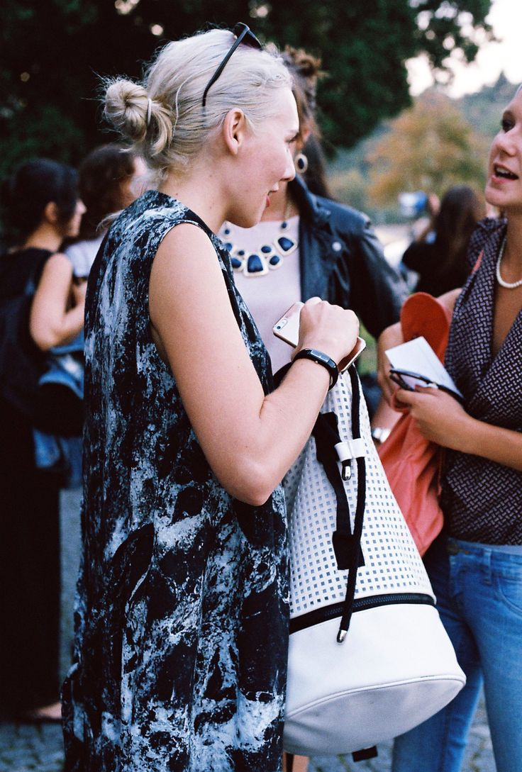 MBPFW 2014 Street Style; Dress by MIRKA HORKA