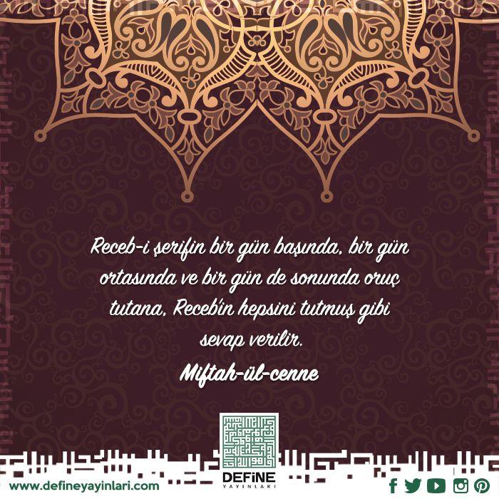 Regaib Kandilimiz Mübarek Olsun… #regaipkandili #hayirlikandiller #islam #ucaylar #recep #saban #ramazan #defineyayinlari #ozelgunler