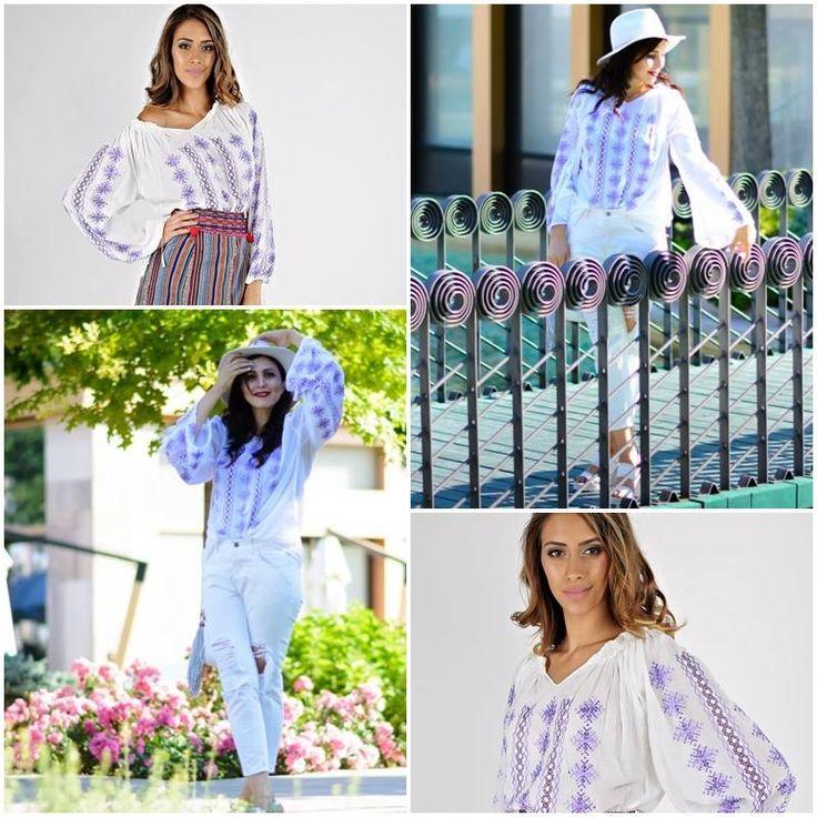 IA iti defineste stilul si personalitatea! #IA e mereu la moda! #poartaIE #outfitoftheday #romanianblouse #tendinteinmoda