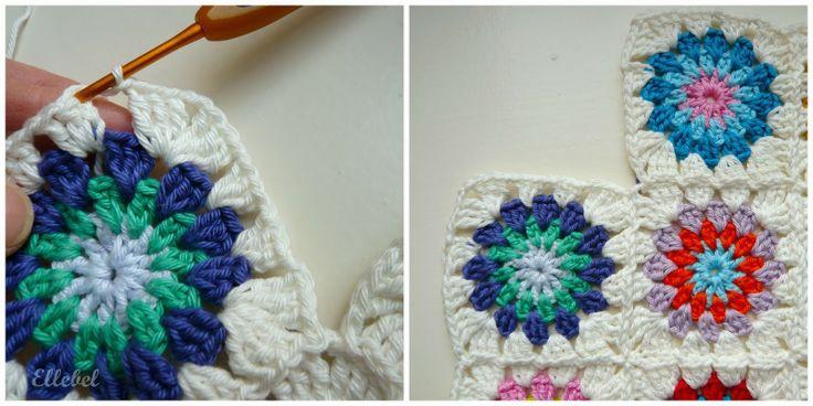 Ellebel: TUTORIAL Granny Flower
