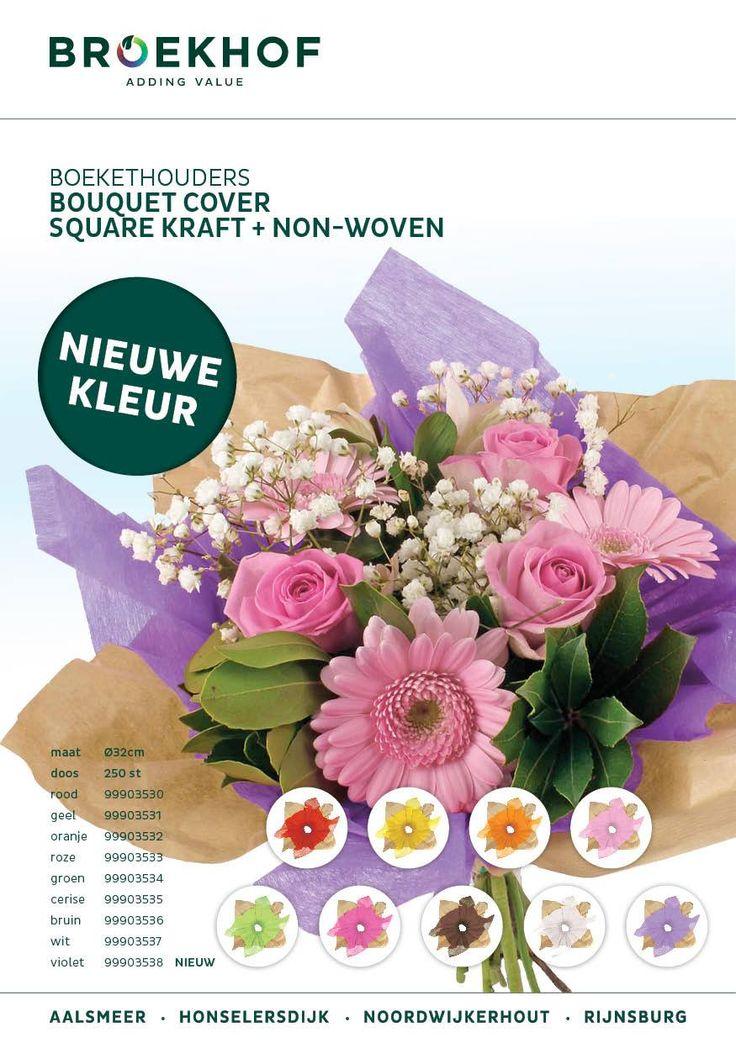 Extra nieuwe kleuren voor onze non woven square bouquet covers. Deze hebben we nu voor u: http://bit.ly/2bOsyJ4