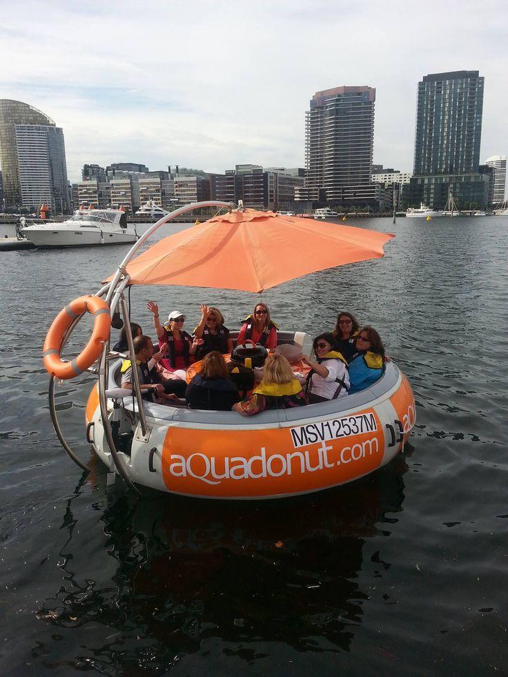 Aqua Donut. Docklands, Melbourne, Australia