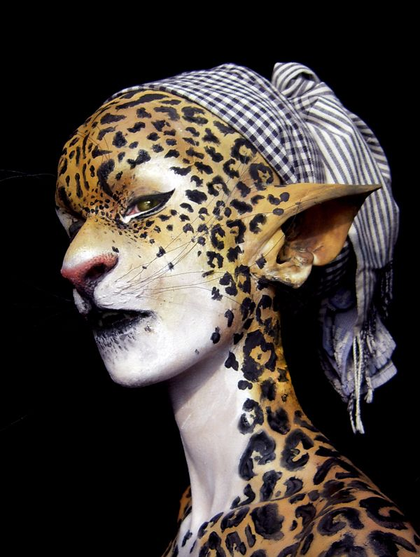 Jaguar Girl Final Edited by ~blue-sheep on deviantART (the high makeup end of the Ikati)