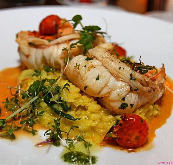 Ausgelöste #langusten mit #safran #risotto #lobster with risotto... #elgauchograz #starter #dinner #steakhouse #foodgasm #foodpic #instafood #foodies #foodie #foodshot #foodstagram #instafood #photooftheday #picoftheday #testesser #graz #steiermark #austria