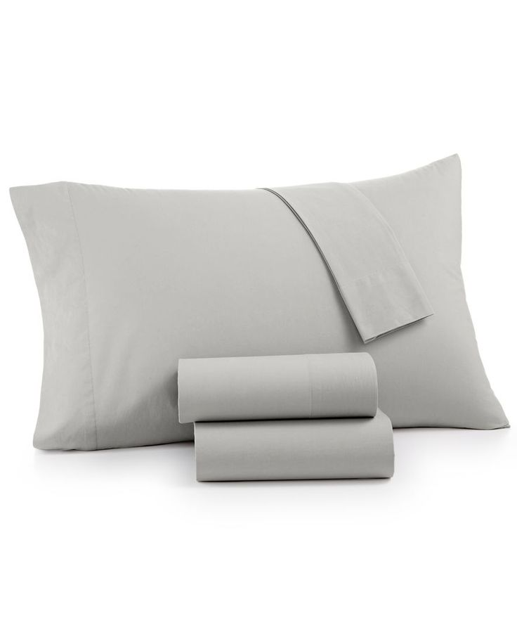 Whim by Martha Stewart Collection Vintage Wash 4-Pc. California King Sheet Set, 200 Thread Count 100% Cotton, Only at Macy's