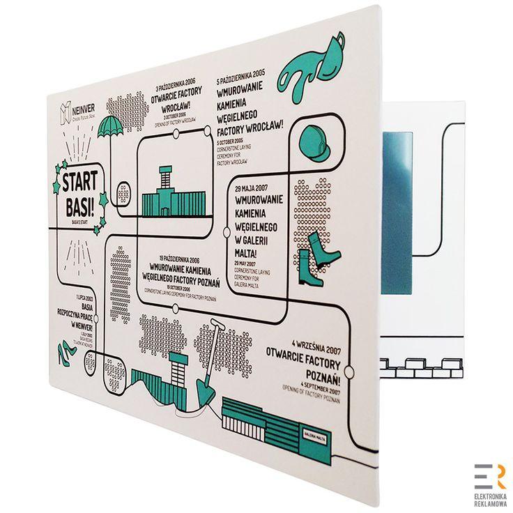 Video broszury w twardej okładce to ekskluzywna forma prezentacji spotu reklamowego, oferty lub katalogu produktów. Niewątpliwą zaletą video broszur jest to, że materiały promocyjne trafiają bezpośrednio klienta, a ten otrzymując ten unikatowy produkt czuje się jak ktoś wyjątkowy.  #broszurawideo #videobroszura #videobrochure #elektronikareklamowa