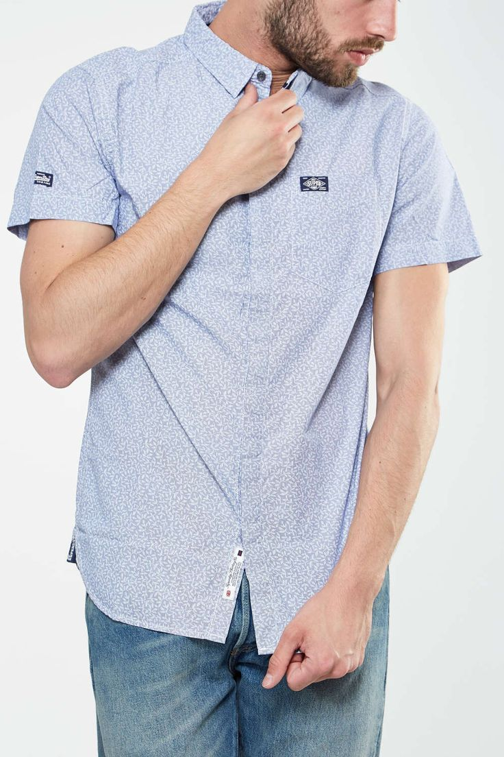 Chemise Superdry pour homme #codespromo #Unclejeans