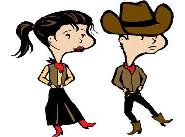 Country-western dance | Danse country par l'association Western country dance