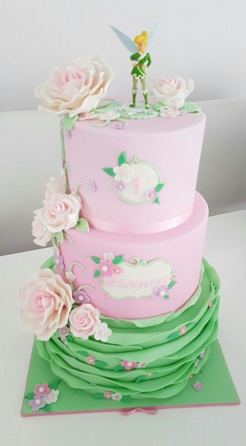 Tinkerbell cakes by Dina's cupcakes and cakes