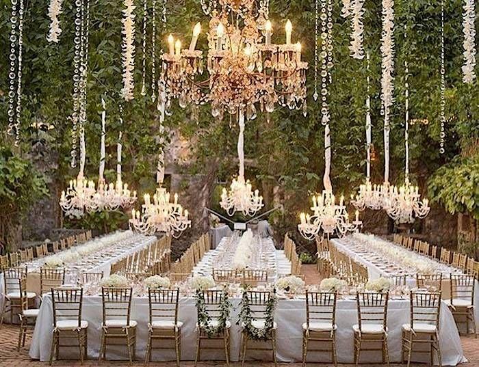 Glamorous Wedding Reception Tips on Style - MODwedding