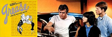 1950s Rock, B: The 1970s disciples!___ ⬤ The original GREASE musical; Paul LeMat, Cindy Williams, and Ron Howard, AMERICAN GRAFFITI.___ ➜ Click the pic to hear the MUSIC PLAYER!
