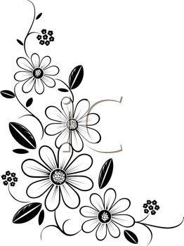Imagen de archivo libre prediseñada Imagen de una esquina de la flor