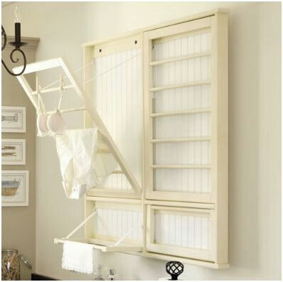 Laundry room - drying rack