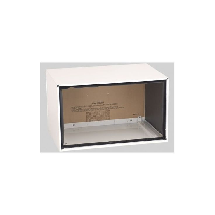 Amana PBWS01A 15-3/4 Inch by 26 Inch by 16-3/4 Inch Wall Sleeve for Amana Throug Stonewood Beige Air Conditioners Accessory Sleeve