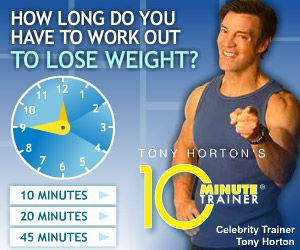The 10 Minute Trainer is a popular home exercise program from Beach body and it has been created for busy  people, who do not have time to  exercise. It is claimed that with  just 10 minutes it is possible to get into fantastic shape.