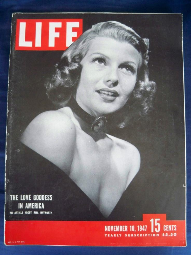 LIFE MAGAZINE NOVEMBER 10 1947 RITA HAYWORTH VINTAGE WWII ...