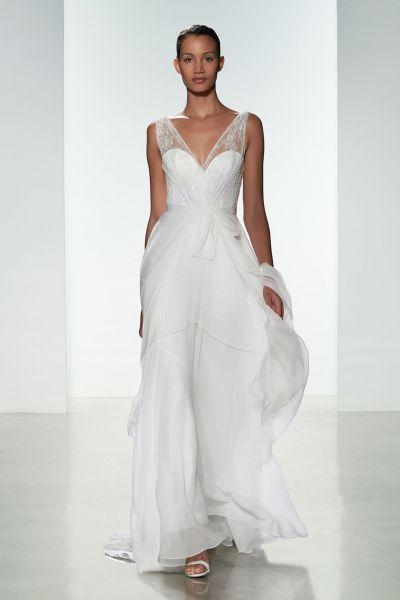 Elige uno de estos vestidos de novia corte imperio 2016: un look muy romántico Image: 8