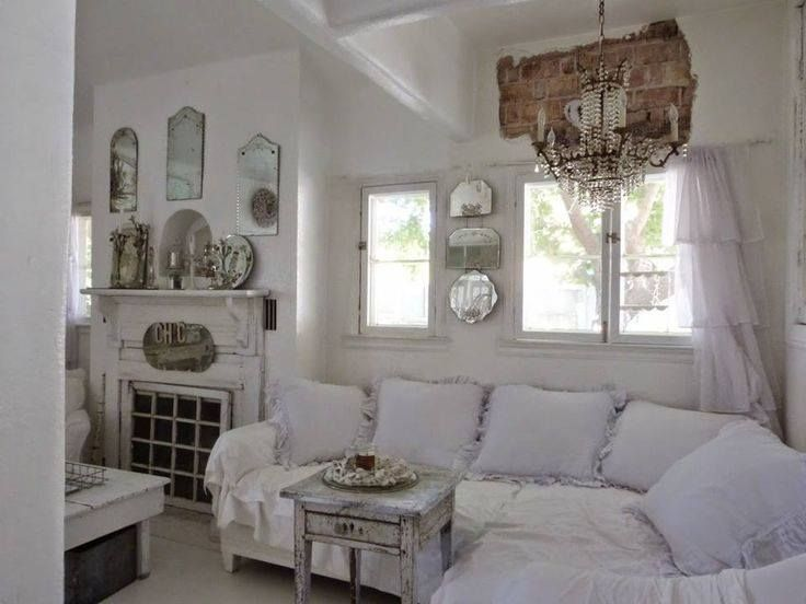 17 best images about victorian romantic shabby cottage living rooms on pint - Shabby vintage gustavien ...