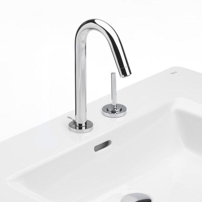 Roca singles grifo de lavabo con joystick desag e for Griferia aua