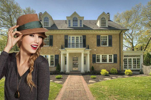 Pop Star Taylor Swift's Childhood Home Listed for $800K