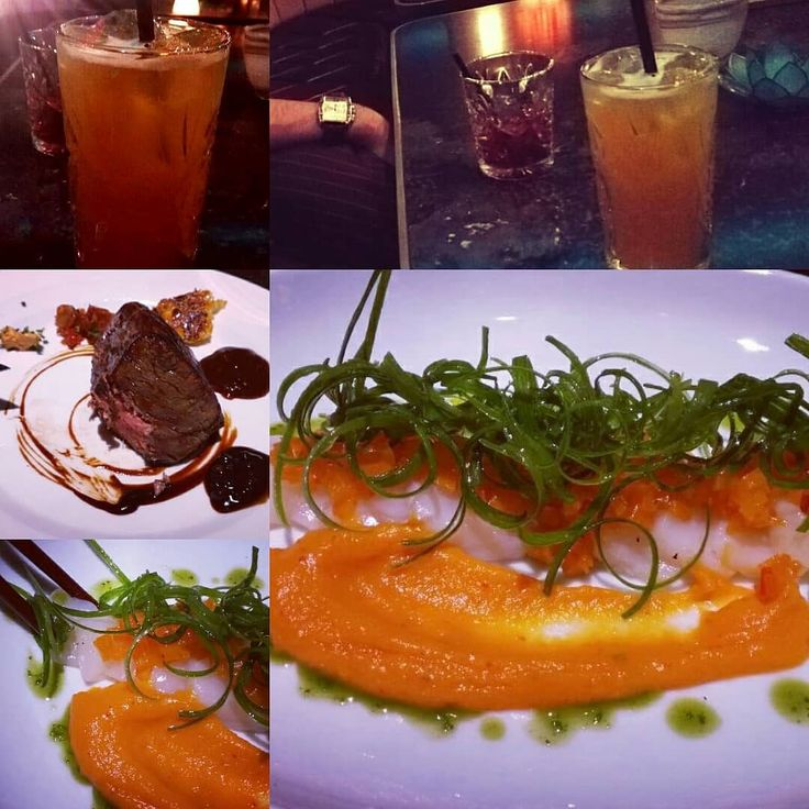 Throwback-Thursday Part 1:  When it's stormy cold and rainy outside I like remind me of nice summerdays.  Nice dinner with cocktails at @hohoffs800_goldencage  and @hohoffs800_grandcentralbar in Hagen with US Tenderloin Scallop Carpaccio Ipu Haiki and Rauch&Zunder.  #throwback #throwbackthursday #cocktails #hohoffs #steaks #scallops #drinks #cheers #summer #dinner #foodart #vodka #enjoy #enjoylife #memories