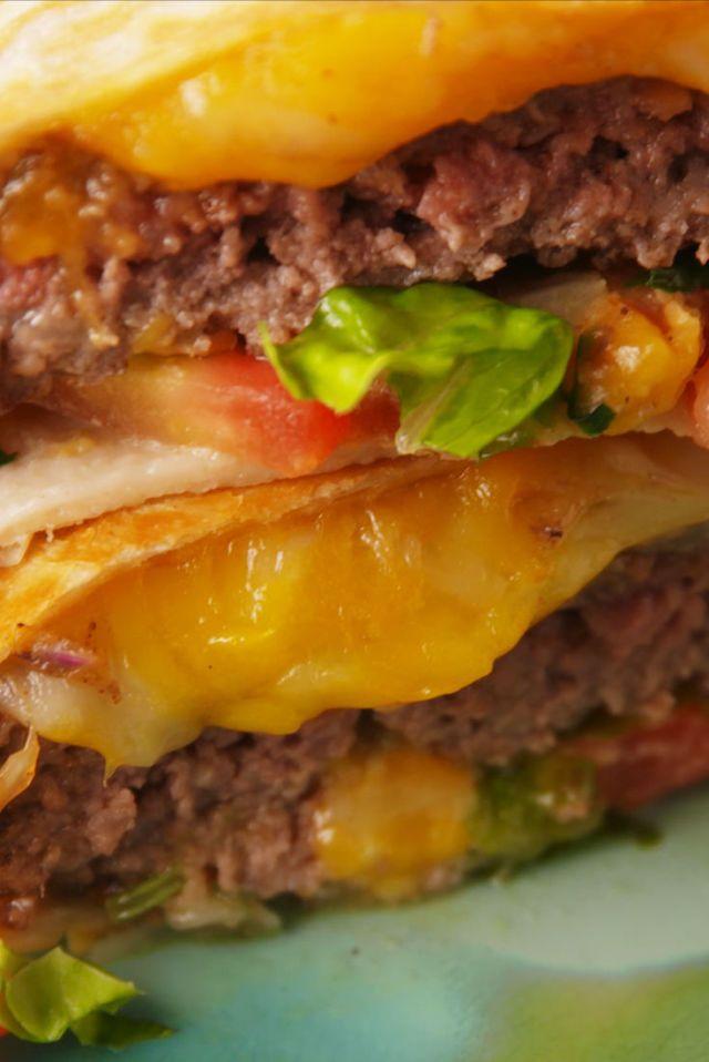 Quesadilla Burger...No longer do you have to choose between a quesadilla or a burger!!