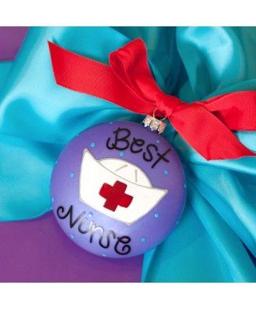 Best Nurse Ornament  www.keenelandgiftshop.com