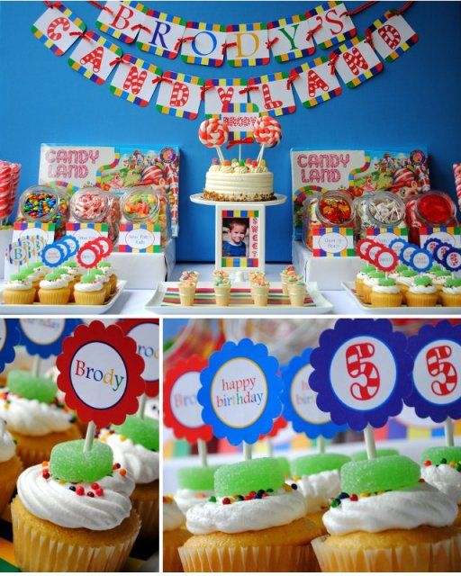 Candyland Birthday Party! - Kara's Party Ideas - The Place for All Things Party